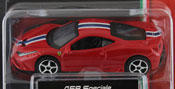 Ferrari 458 Speciale, size 3inch in Red by Bburago, diecast miniature scale model car.