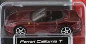 Ferrari California T Open Top, size 3inch in Dark Red by Bburago, diecast miniature scale model car.
