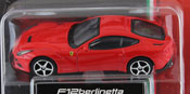 Ferrari F12 Berlinetta, size 3inch in Red by Bburago, diecast miniature scale model car.