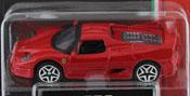 Ferrari F50, size 3inch in Red by Bburago, diecast miniature scale model car.