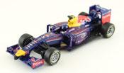 Infiniti Red Bull Racing Team RB10 2014 Daniel Ricciardo, scale 1:32 in Blue by Bburago, diecast miniature scale model Formula-1 car.
