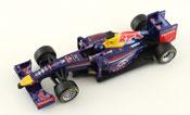 Infiniti Red Bull Racing Team RB10 2014 Sebastian Vettel, scale 1:32 in Blue by Bburago, diecast miniature scale model Formula-1 car.