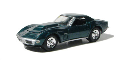 scale 1:64 in Green by GreenLight, diecast scale model car, toy car