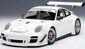 Porsche 911(997) GT3 R 2010 Plain Body Version, scale 1:18 in White by AUTOart, premium diecast miniature scale model ca