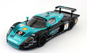 Maserati MC12, scale 1:24 in Green-Black by Bburago, diecast miniature scale model race car,