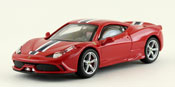 Ferrari 458 Speciale, scale 1:43 in Red by Bburago, premium quality diecast miniature scale model car.