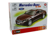 Mercedes Benz CL 550 - Kit, scale 1:32 in Brown by Bburago, car model assembly kit
