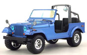 Jeep Wrangler, 1:24 scale in Blue by Bburago, miniature diecast scale model jeep, toy suv, toy jeep, kids toys, toys for boys, vehicle toys, licensed automobile miniature replica model vehicle, available online in India