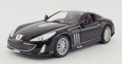 Peugeot 907 V12, scale 1:18 in Black by Bburago, diecast miniature scale model car,