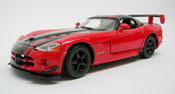 Dodge Viper SRT10 ACR, scale 1:24 in Red by Bburago
