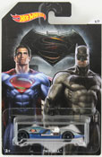 Twin Mill (Dawn of Justice) in Blue-Grey by HotWheels, diecast miniature scale model car toy, Hotwheels car, Hot Wheels toy, Batman V Superman character car.