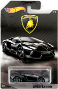 Lamborghini Aventador in Black by HotWheels, diecast miniature scale model car toy, Hotwheels car, Hot Wheels toy, Hot Wheels Lamborghini collection.