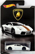 Lamborghini Reventon in White by HotWheels, diecast miniature scale model car toy, Hot Wheels car, Hot Wheels toy, Hot Wheels Lamborghini collection.