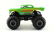 Avenger in Green by HotWheels, diecast miniature scale model monster jam truck toy, Hotwheels monster truck, Hot Wheels toy.