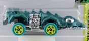 Fangster in Green by HotWheels, diecast miniature scale model car toy, Hotwheels car, Hot Wheels toy.