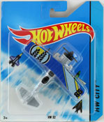 HW X2 in Blue-Silver by HotWheels, diecast miniature scale model plane toy, Hotwheels plane, Hot Wheels toy.