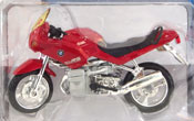 BMW R1100 RS, scale 1:18 in Red by Maisto, miniature diecast scale model bike