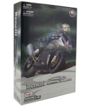 Benelli Tornado Tre 1130, Assembly Kit, scale 1:12 in Grey-Silver by Maisto, diecast scale model bike assembly kit, toy bike, toy bike assemble kit, kids toys, toys for boys, vehicle toys, licensed automobile miniature replica model vehicle