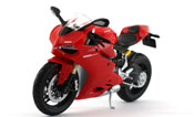 Ducati 1199 Panigale, scale 1:12 in Red by Maisto, diecast miniature scale model bike