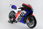 Ducati Desmosedici 2011 - France, scale 1:06 in Red-Blue by Maisto, diecast miniature scale model bike