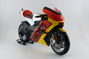 Ducati Desmosedici 2011 - Germany, scale 1:06 in Red-Yellow by Maisto, diecast miniature scale model bike