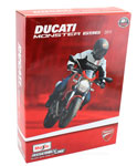 Ducati Monster 696 2011 - Assembly Kit, scale 1:12 in Red by Maisto, diecast miniature scale model bike kit