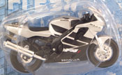 Honda CBR 600F4i, scale 1:18 in Black-Silver by Maisto, miniature diecast scale model bike