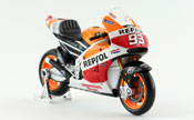 Honda RCV 213, Marc Marquez No.93, Repsol Honda Team 2014, scale 1:18 in Repsol Colors by Maisto, diecast miniature scale model bike, grand prix bike scale model.
