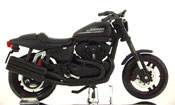 XR1200X- 2011, Harley Davidson, scale 1:18 in Black by Maisto, miniature diecast scale model bike
