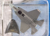 F-35 Lightning II, size 4.5inch in Dark Grey by Maisto, miniature diecast scale model plane, toy plane, kids toys, toys for boys, vehicle toys, licensed automobile miniature replica model vehicle