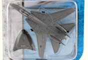 F-14 Tomcat, size 5inch in Grey by Maisto, miniature diecast scale model plane