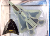 F-22 Raptor, size 4.5inch in Grey by Maisto, miniature diecast scale model plane