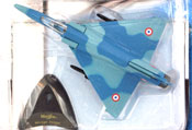 Mirage 2000C, size 5inch in Blue by Maisto, miniature diecast scale model plane