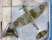 Supermarine Spitfire Mk. Vb, size 4.2inch in Grey-Green by Maisto, miniature diecast scale model plane, toy plane, kids toys, toys for boys, vehicle toys, licensed automobile miniature replica model vehicle