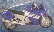 Yamaha FJR, scale 1:18 in Blue by Maisto, miniature diecast scale model bike