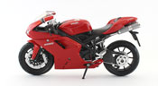 Ducati 1198, scale 1:12 in Red by NewRay, diecast miniature scale model bike