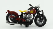 Indian Scout Board Track Racer 1940, scale 1:32 in Brown by NewRay, diecast miniature scale model vintage bike
