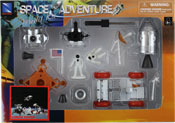 Lunar Rover, space adventure assembly kit by NewRay, miniature scaled model spacecraft, astronautical scale model, space mission scale model.
