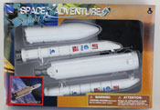 Rocket 5, space adventure assembly kit by NewRay, miniature scaled model spacecraft, astronautical scale model, space adventure scale model