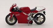 Ducati 998s, scale 1:12 in Red-White by NewRay, diecast scale model bike