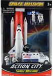 Space Mission Set-3 by Realtoy, miniature scaled model space shuttle, astronautical scale model, space mission scale models.