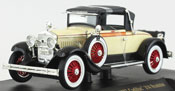 Cadillac 314 Roadster 1927, scale 1:32 in Cream by Signature Models, diecast miniature scale model car.